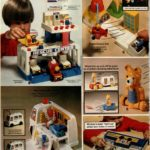 Vintage toys - ambulance, emergency room, flight school set and Mickey Mouse matching game