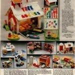 Fisher Price schoolhouse, jetport, farm, plane and more preschool toys