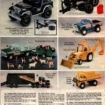 Tonka Jeep, Off-road Racer, Nylint Rhino, Ertl Tractor and more truck toys