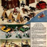 Imaginary world play sets: Fort Union, Highway Patrol, Cavalry and Indian toy set
