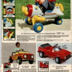 Pines Plane, Wrangler 4x4 Pickup and Volkswagen Rabbit ride-on toys for kids