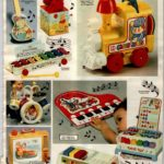 Vintage musical toys for babies, toddlers and preschoolers