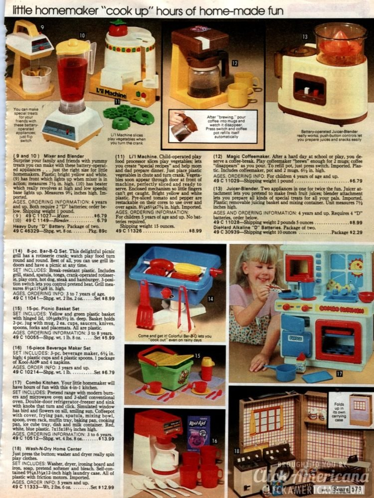 Little homemaker cooks up hours of homemade fun - pretend kitchen toys