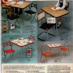 Vintage folding chairs and chair and table sets for kids