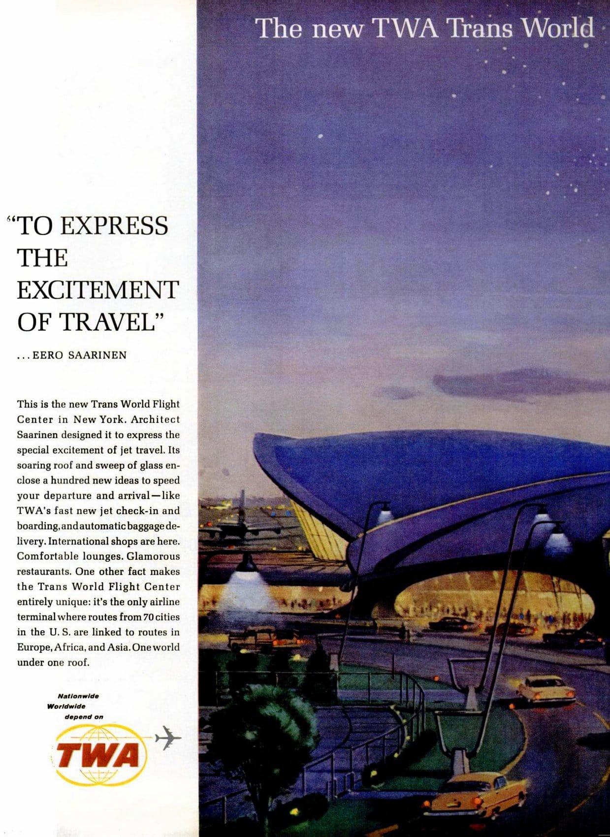 Trans-World Flight Center at NY International Airport - 1963 (2)