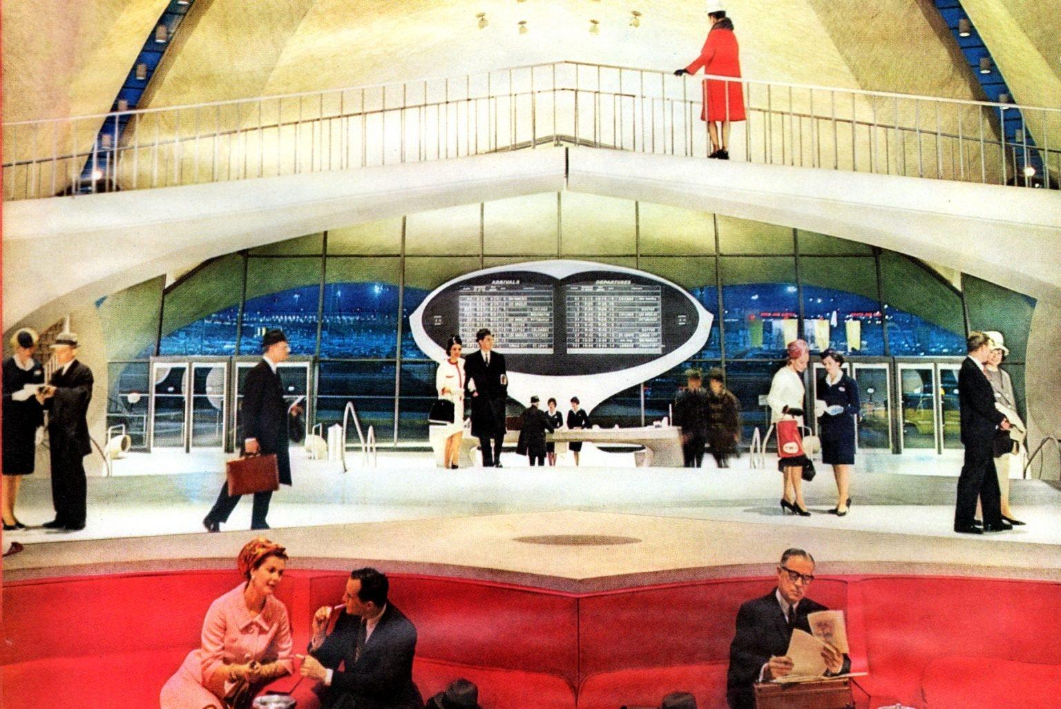 Trans World Flight Center in New York - TWA JFK NYC