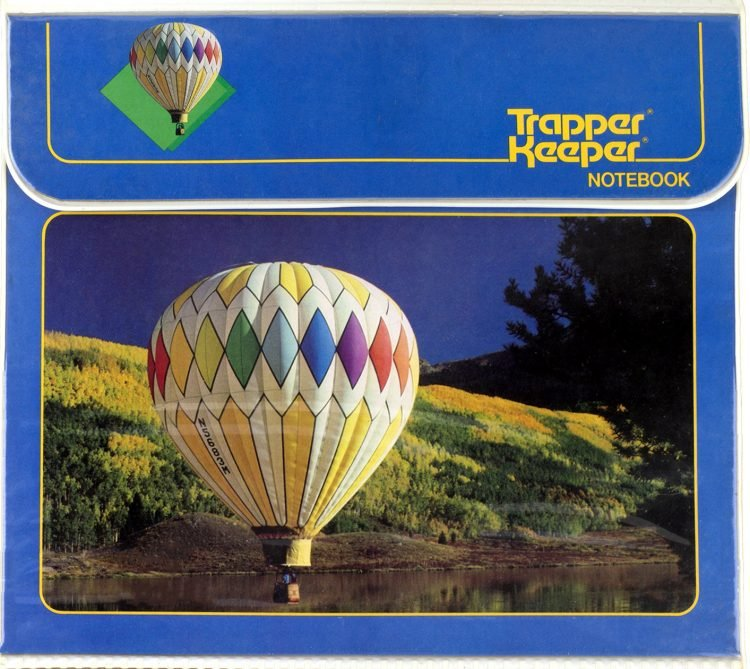 Trapper Keeper - hot air balloon