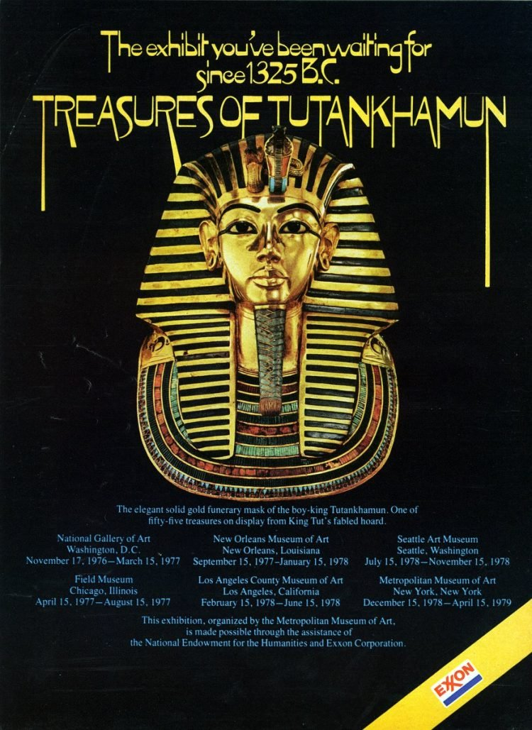 Treasures of Tutankhamun exhibit (1977)