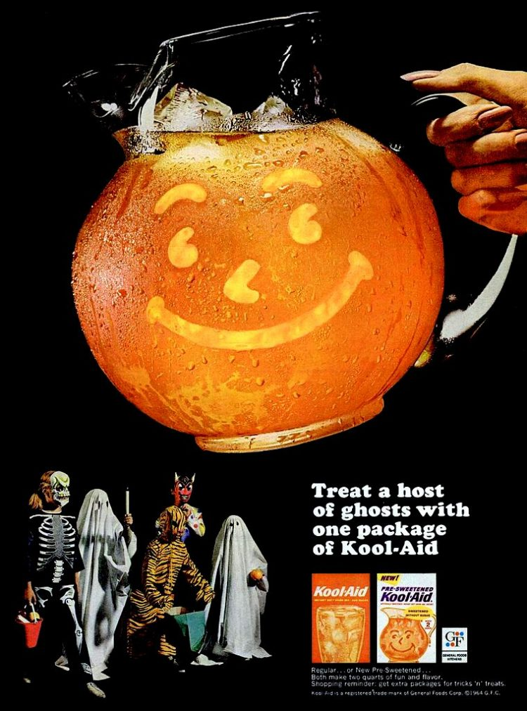 Treat a host of ghosts with one package of Kool-Aid (1964)