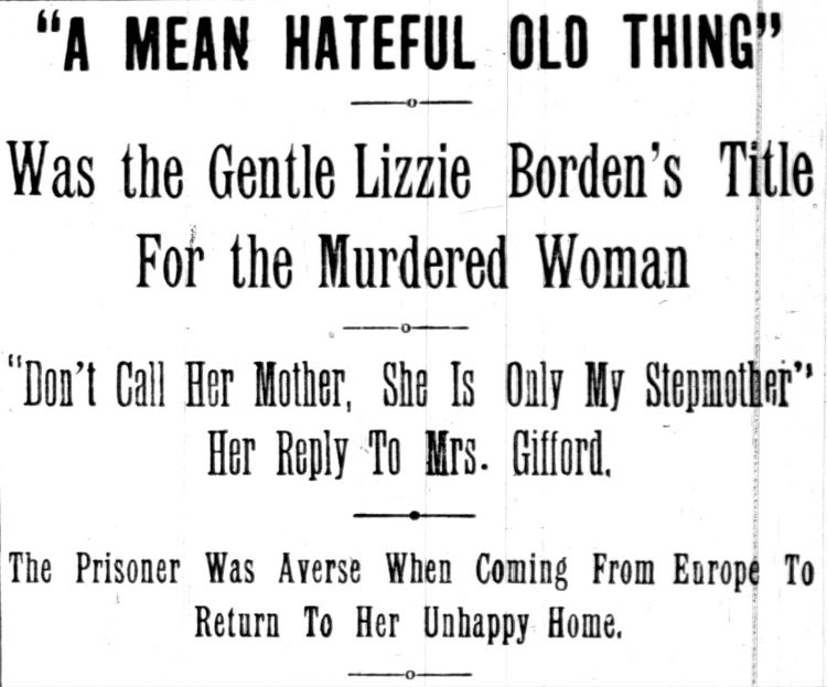 Trial headline from June 14 1893