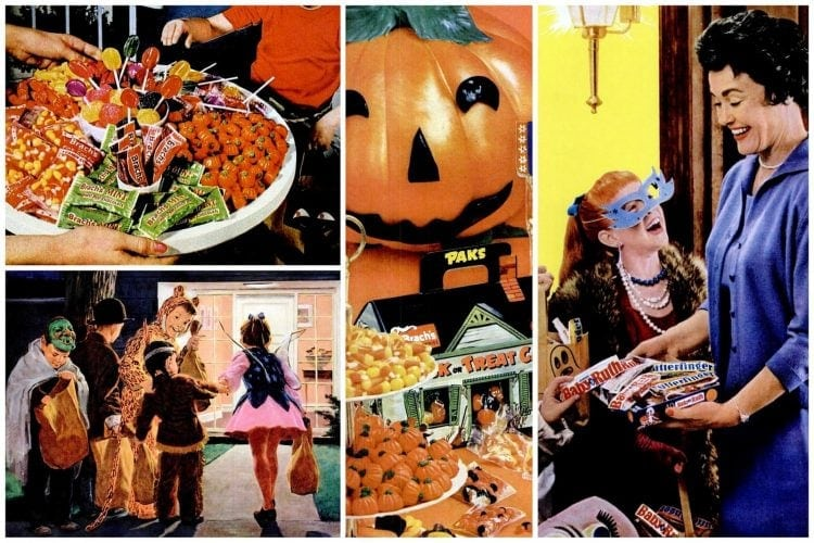 Trick or treat, retro-style See the sweetest Halloween candy from the '50s & '60s