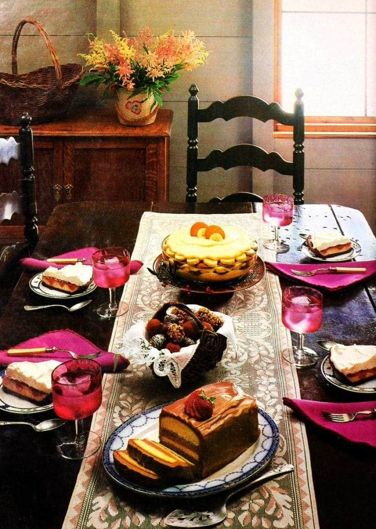 Truffles, torte, PB&J pie & banana pudding: Cream cheese recipes (1985)