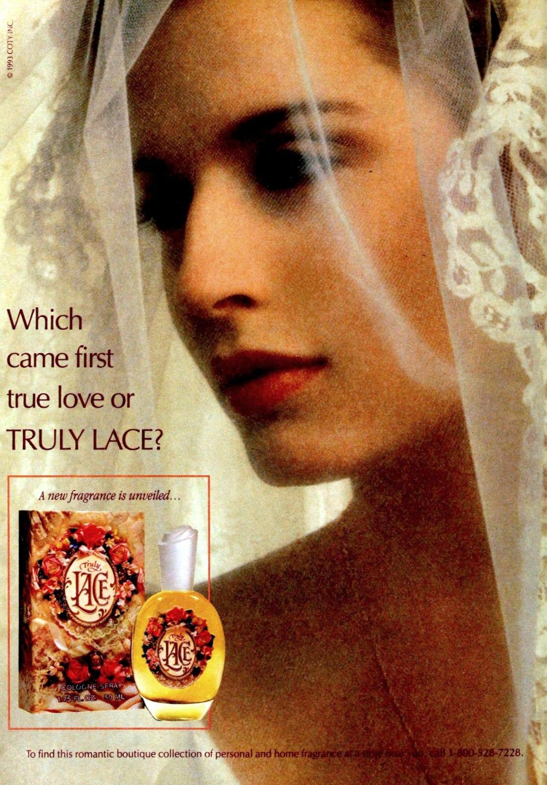 Truly Lace perfume (1993) at ClickAmericana.com