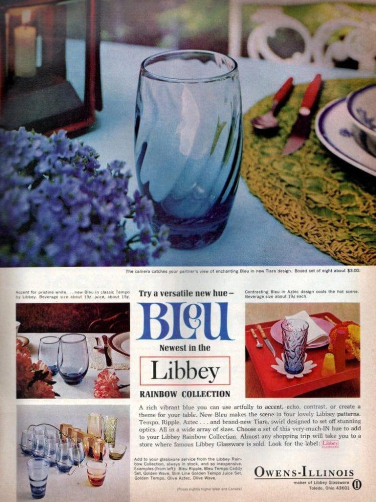 Try a versatile new hue - Bleu! (1967)