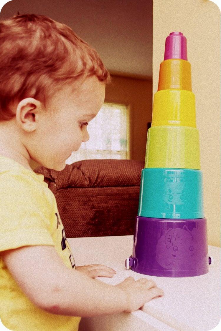 Tuppertoys stacking cups toy photo by mockingbirdstudios via Twenty20