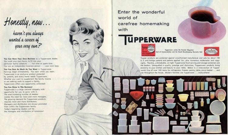 Tupperware career