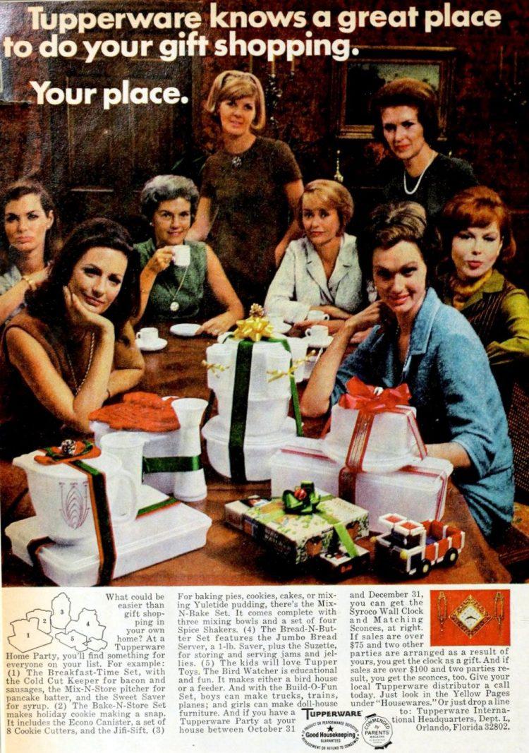 Tupperware party history - 1966