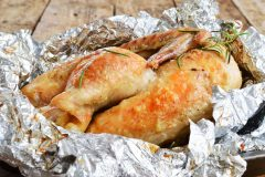 Turkey wrapped in foil recipe