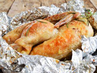 Turkey wrapped in foil recipe