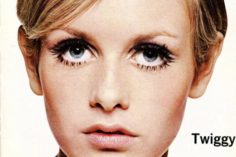 Twiggy on the cover of Newsweek - 1967