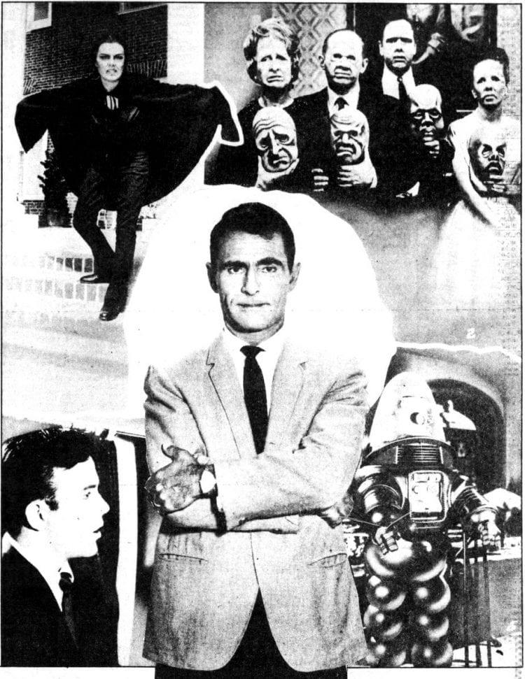 Twilight Zone classic TV show collage 86
