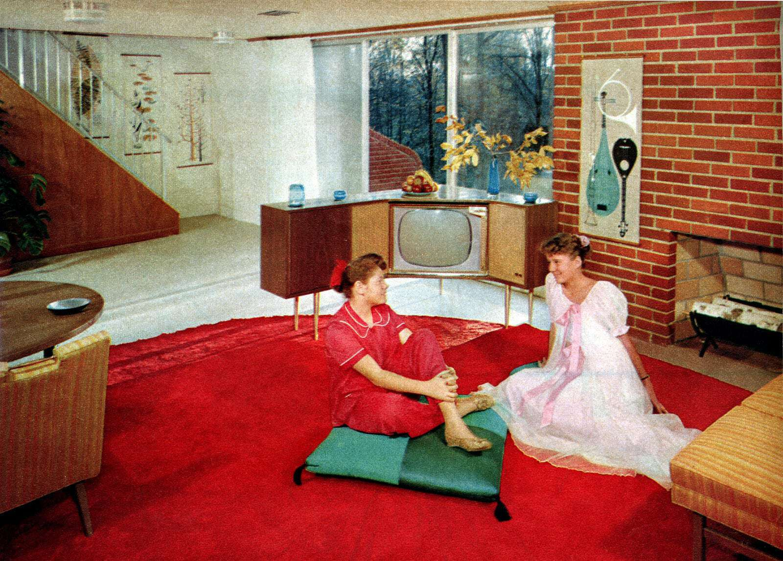 Miraculous What Did A Typical 1950S Suburban House Look Like Feast Uwap Interior Chair Design Uwaporg