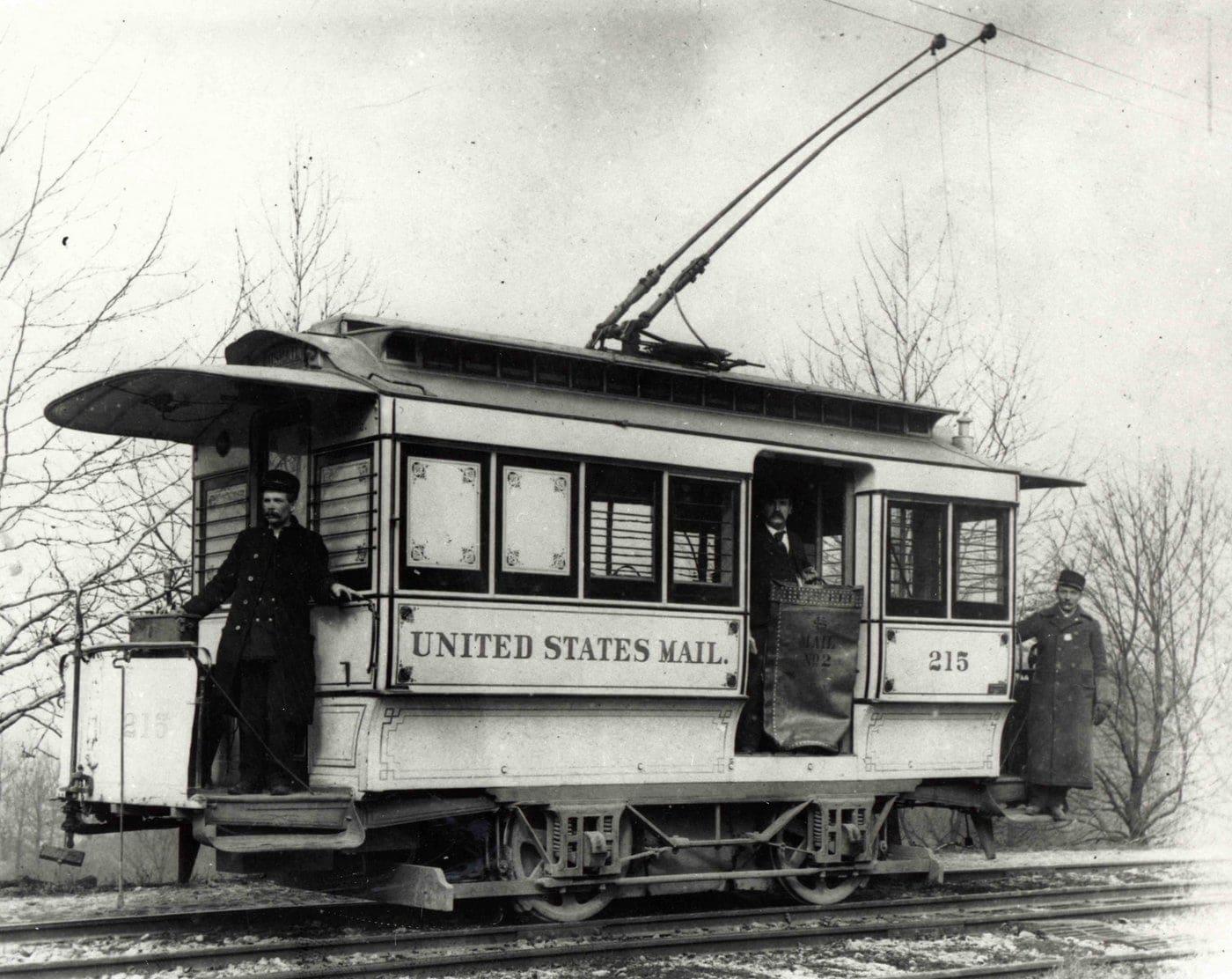 U.S. Railway Mail Service 1896