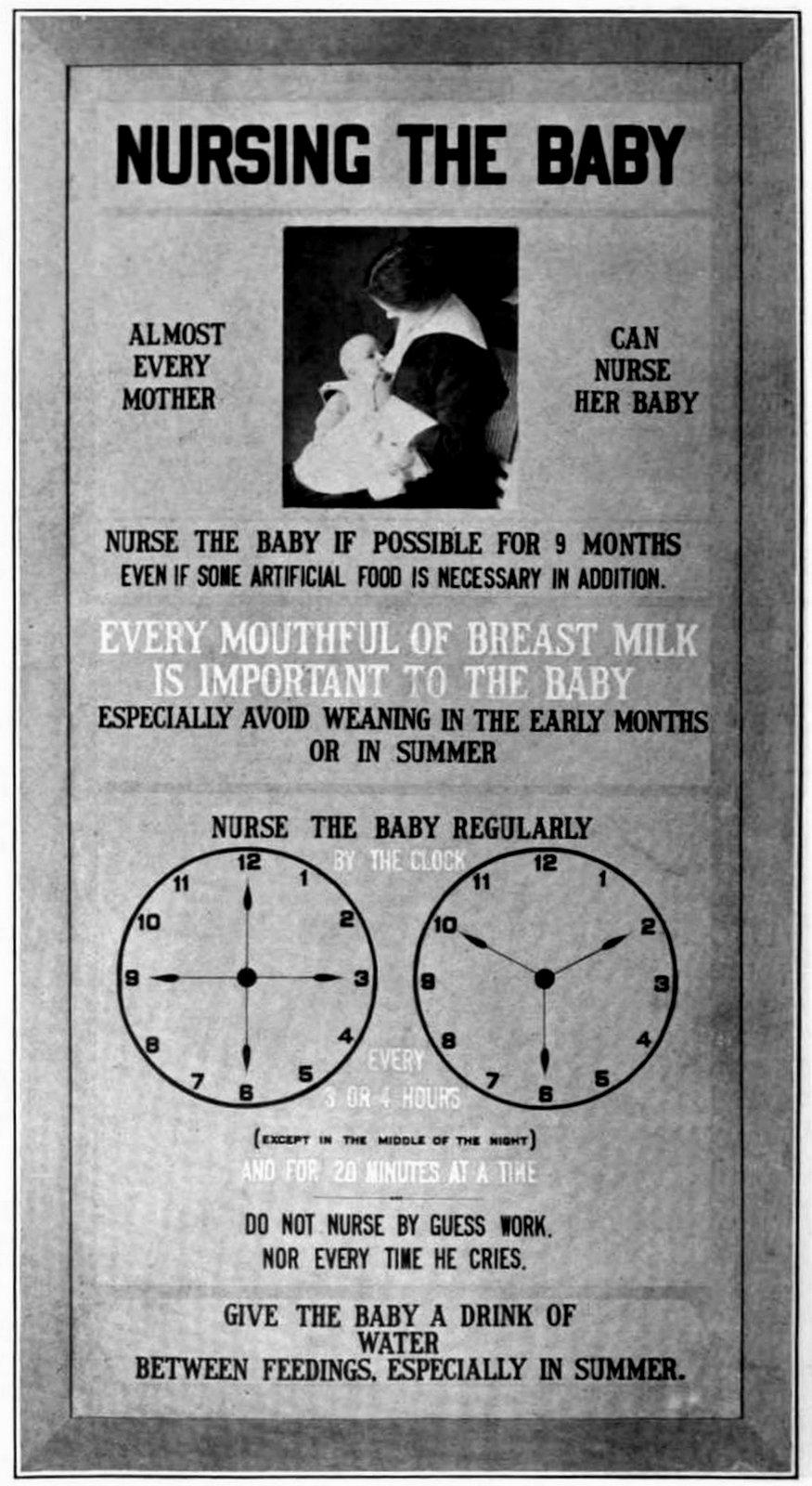 Vintage breastfeeding tips - Infant Mortality 1915 (5)