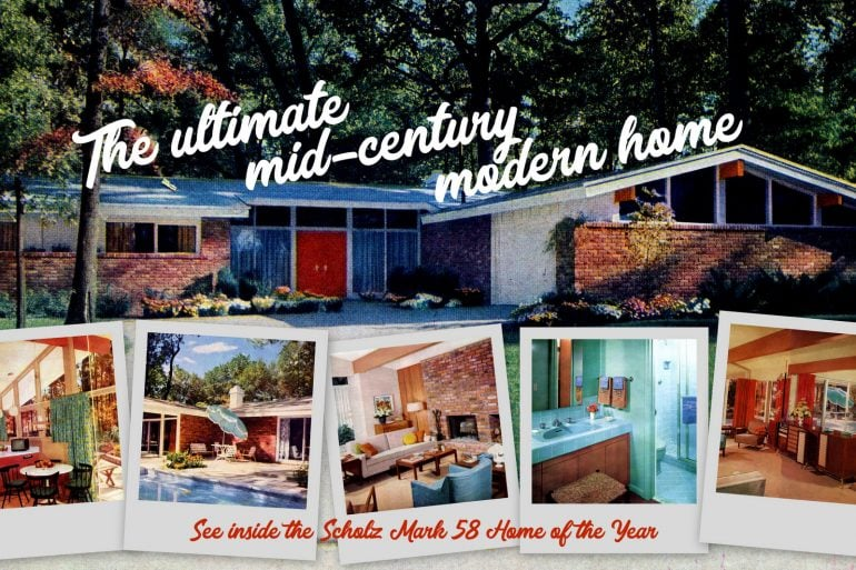 Ultimate mid-century modern house The Scholz Mark 58 Home of the Year