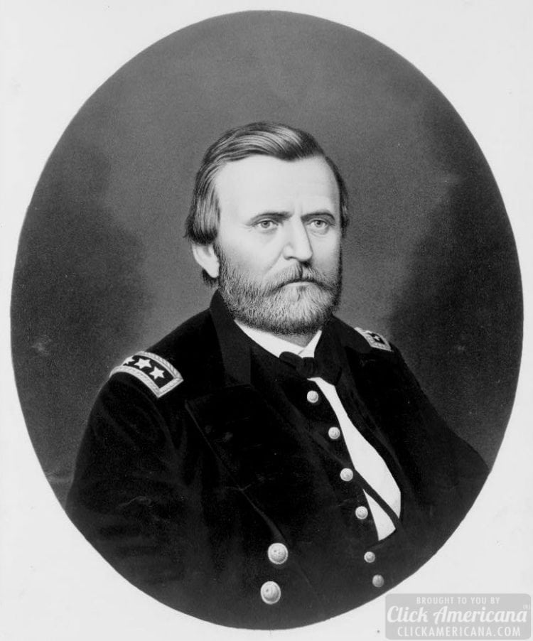 Civil War era Grant uniform portrait c1866