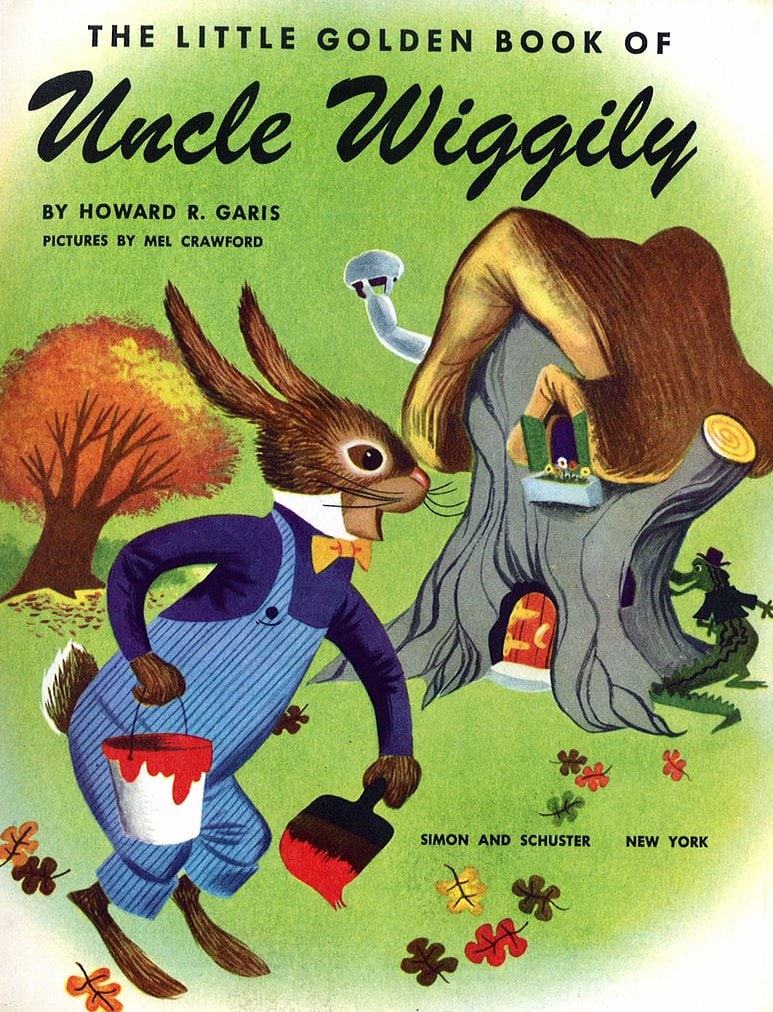 The Little Golden Book of Uncle Wiggily cover art (1953)