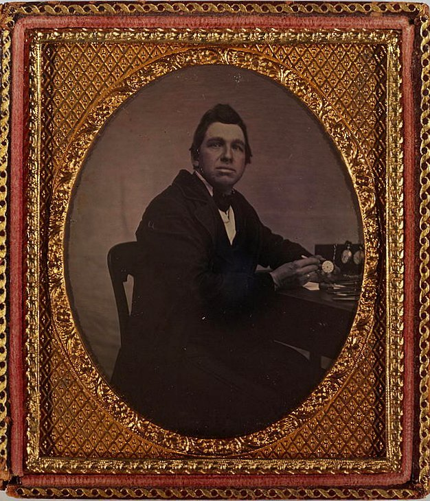 Unidentified antique portrits - Faces from before the Civil War (4)