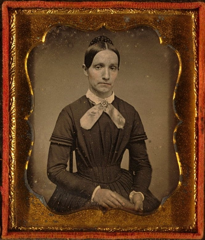 Unidentified antique portrits - Faces from before the Civil War (6)