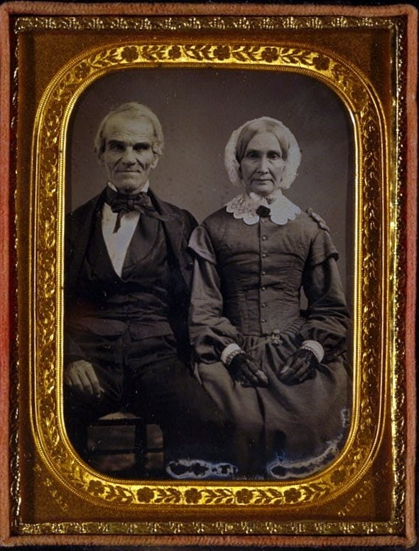 Unidentified antique portrits - Faces from before the Civil War (7)