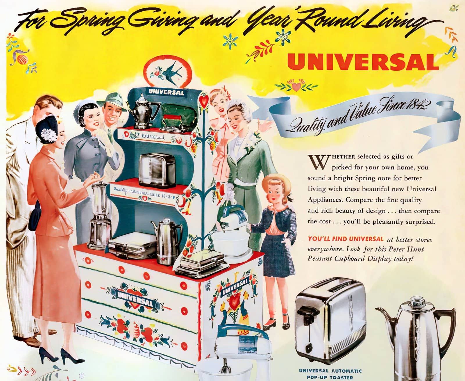 Universal appliances - Peter Hunt (1940s)