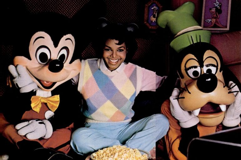 VIntage young Janet Jackson - Disney Channel (1984)