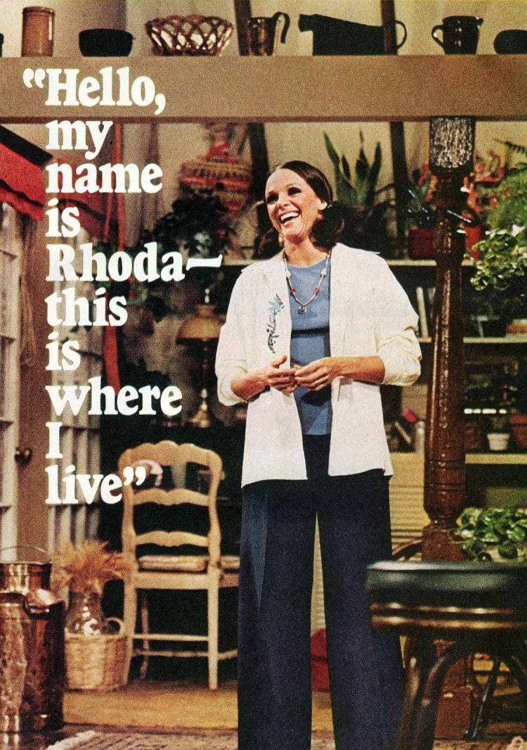 Valerie Harper An interview as her character, Rhoda