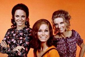 Valerie Harper, Mary Tyler Moore, Cloris Leachman on The Mary Tyler Moore Show