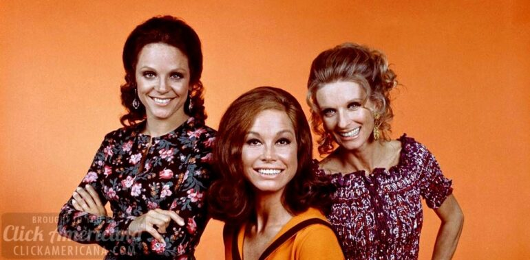 Valerie Harper, Mary Tyler Moore, Cloris Leachman on The Mary Tyler Moore Show