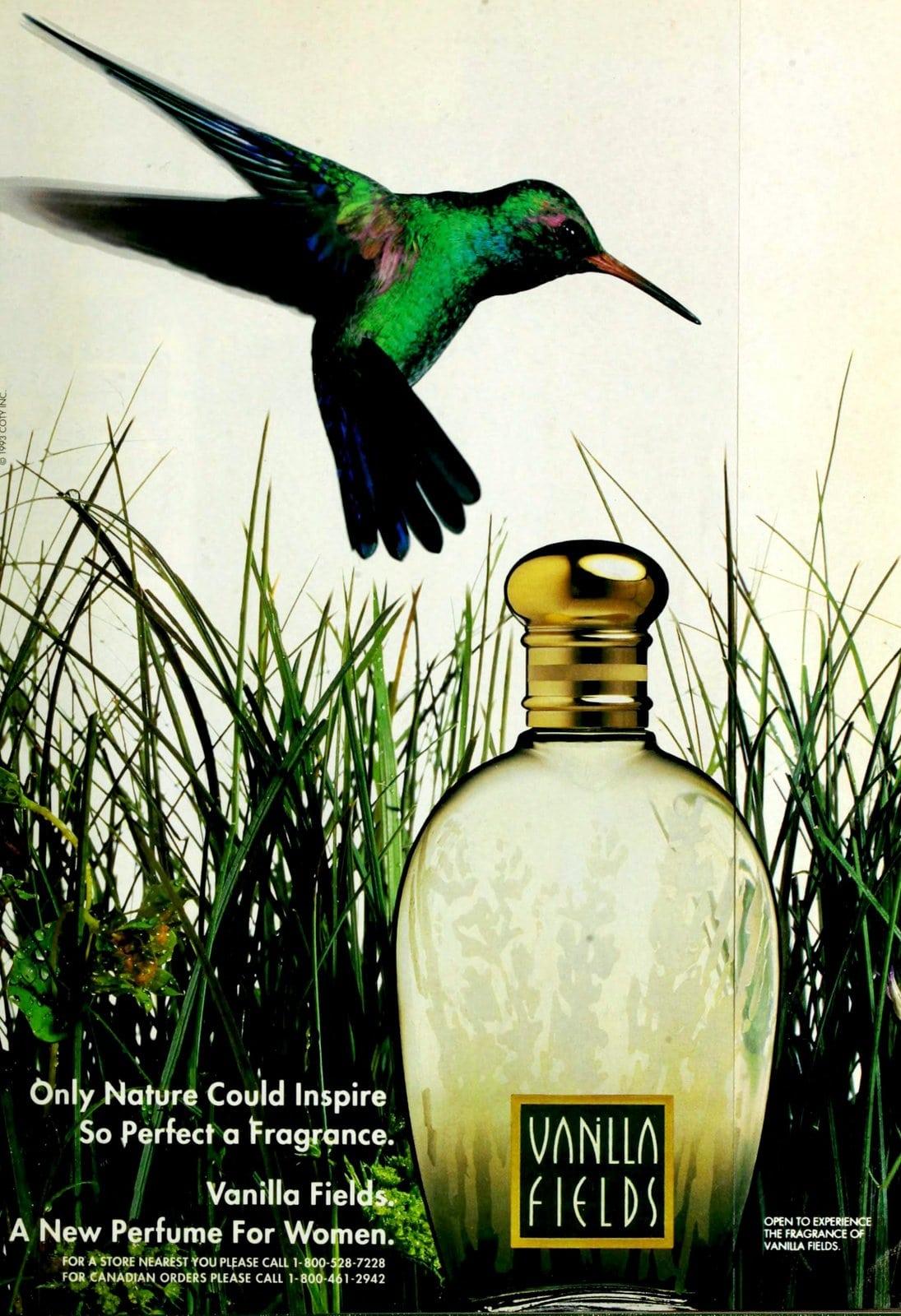 Vanilla Fields vintage fragrance (1993) at ClickAmericana.com