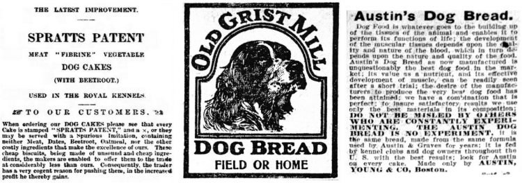 Very old dog food brands - History