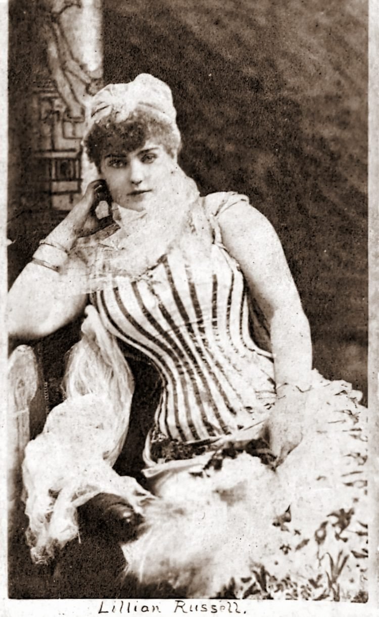 Victorian actress Lillian Russell