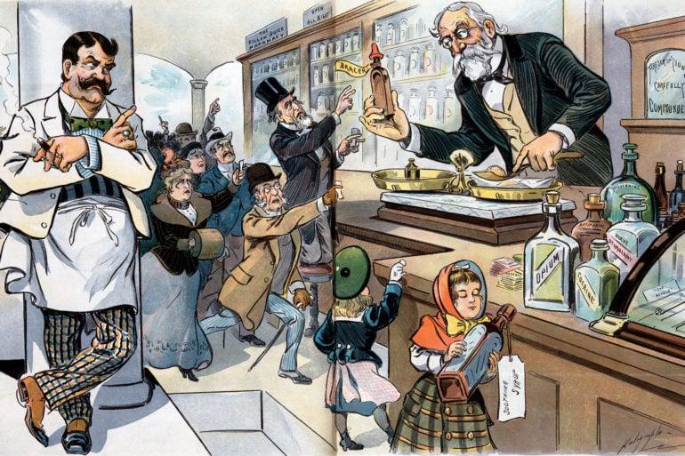 Victorian drug problem - 1900