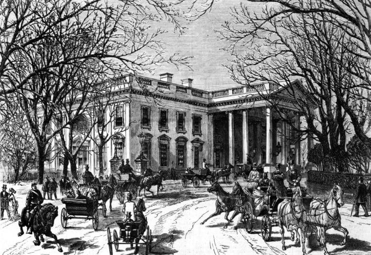 Victorian era White House - Washington DC