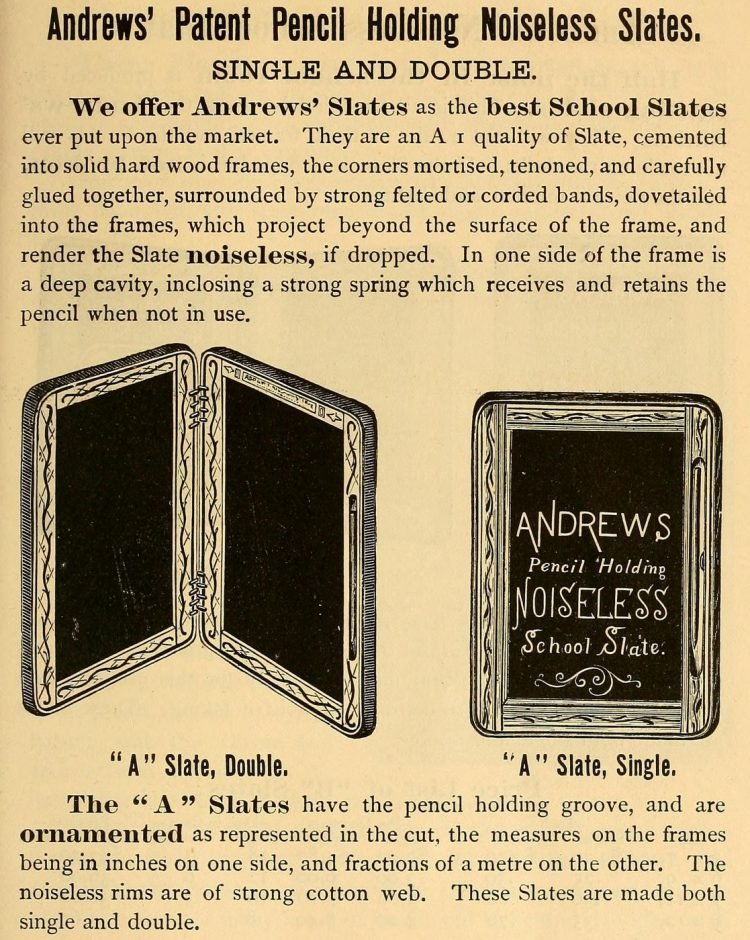 Victorian-era school supplies from 1879 (1)