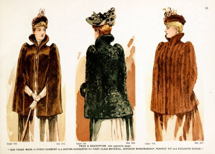 Victorian clothing for women - Other fall and winter jackets, coats, capes and more