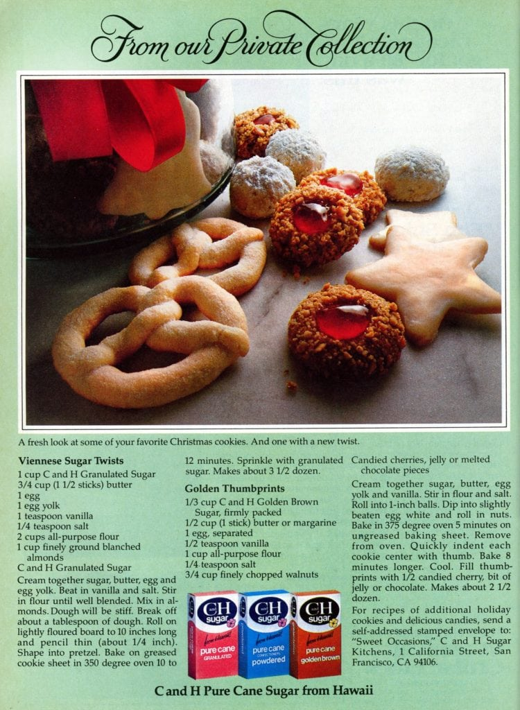 Viennese sugar twists & Golden thumbprints Classic Christmas cookie recipes (1)