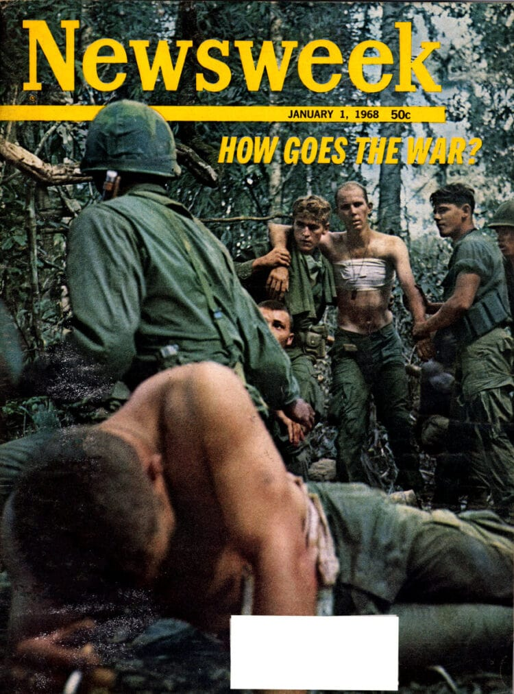 Vietnam War coverage in Newsweek 01 01 1968