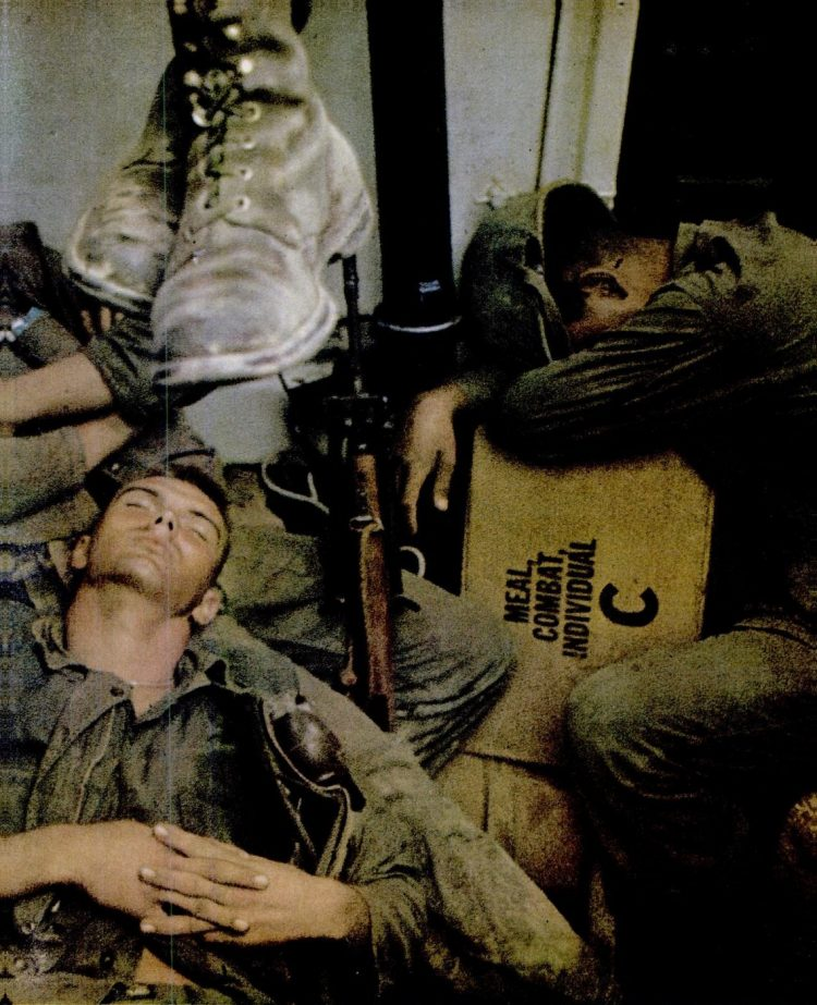 Vietnam soldiers in 1965