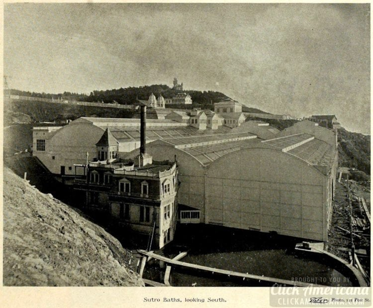 View of San Francisco's Sutro Baths in 1895